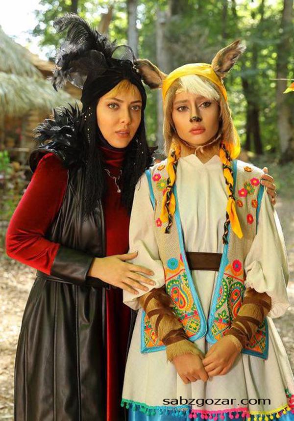 ترلان پروانه و لیلا اوتادی در فیلم پیشونی سفید 3