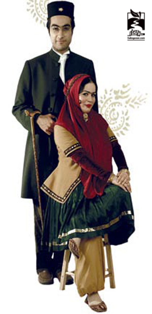 ملیکا شریفی نیا و همسرش